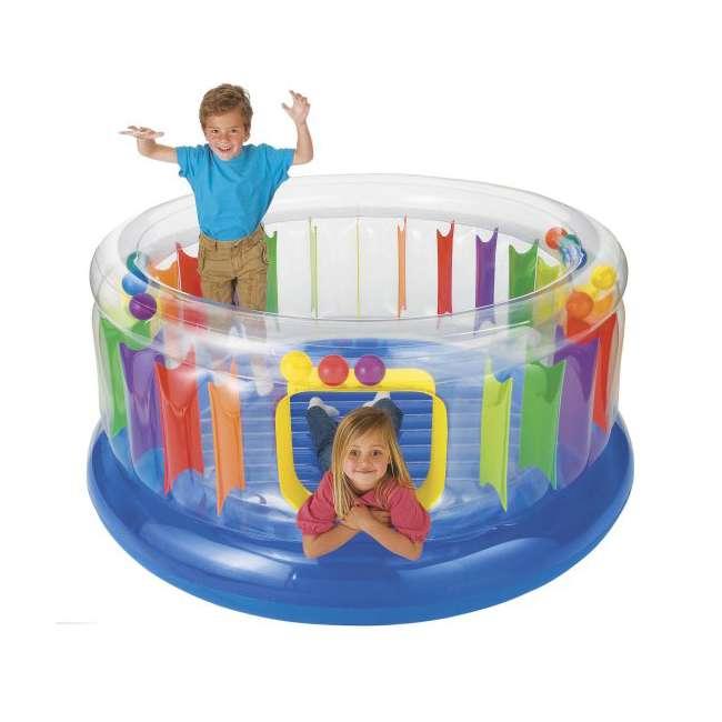 48261EP Intex Inflatable Jump-O-Lene Transparent Ring Bounce | 48261EP