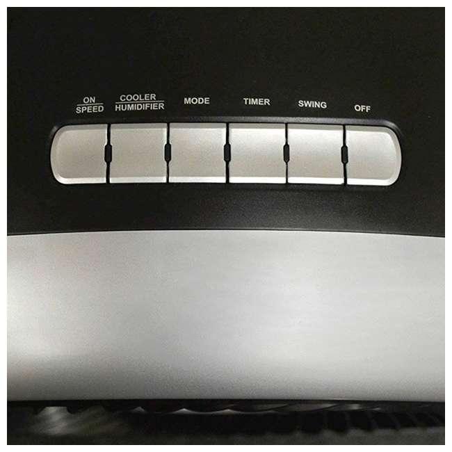 EC110S-U-B Luma 250 Sq Ft 3 Speed Evaporative Cooler w/ Remote, Silver  (Used) (2 Pack)