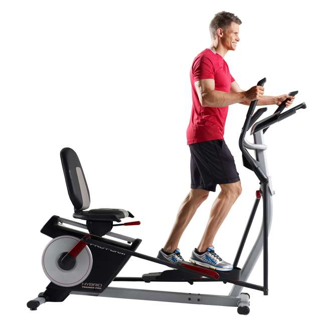 PFEL05815 + WAWkB2017 ProForm Exercise Bike & Elliptical and Weider 20 Pound Kettlebell 6