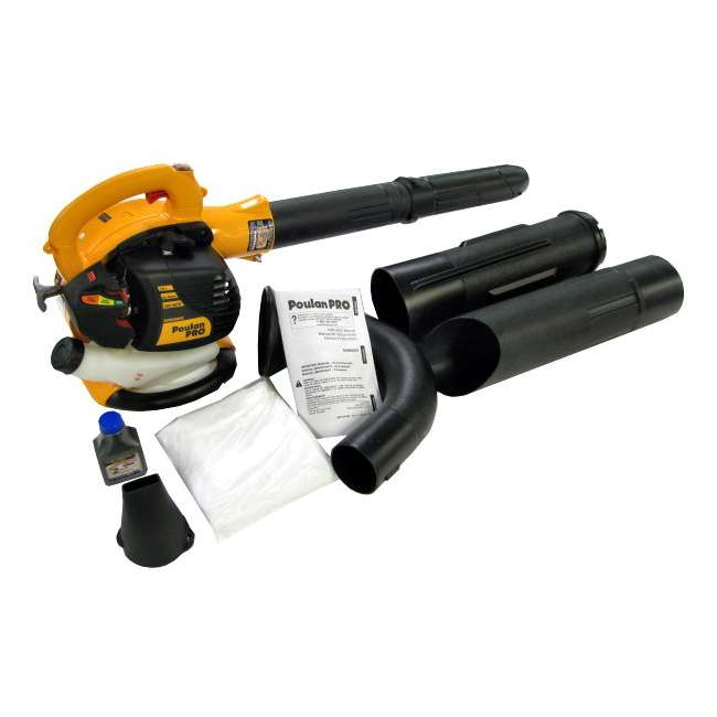 BVM200-A Poulan Pro Gas-Powered Leaf Blower/Vacuum | BVM200VS 6
