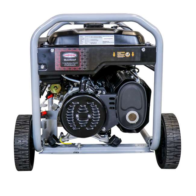 SMPSN-GN-SPG8310E-70008-RB Simpson 8300-Watt Portable Generator (Certified Refurbished) 4