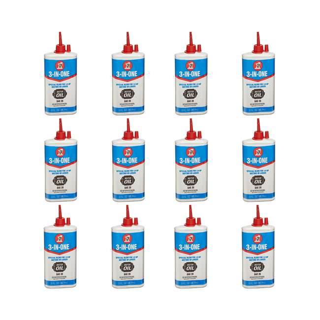 12 x WD-101456 3-In-One Special Electric Motor Oil, 3 Oz (12 Pack)