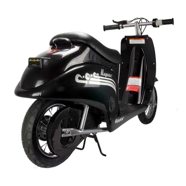 15130601 Razor Pocket Mod Electric Retro Scooter, Black 3