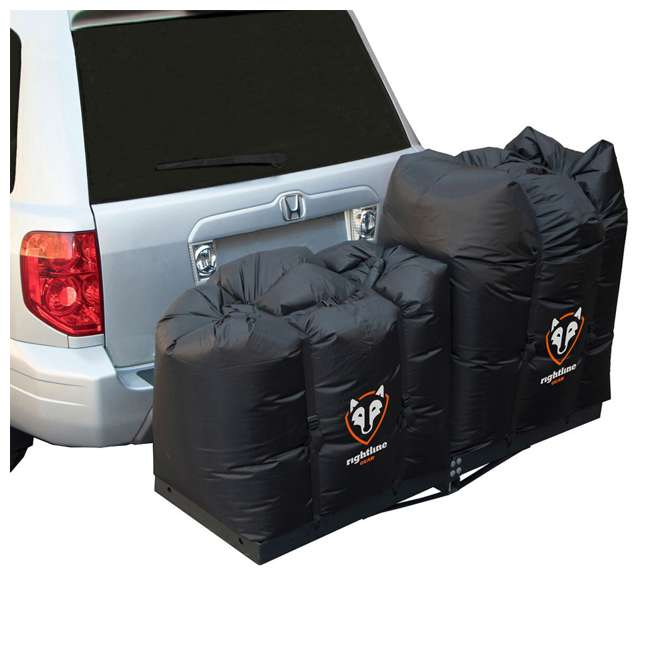 100T62 + CURT-18151 Curt Folding 60-inch Cargo Tray and 2 Rightline Gear Weather Resistant Dry Bags 1