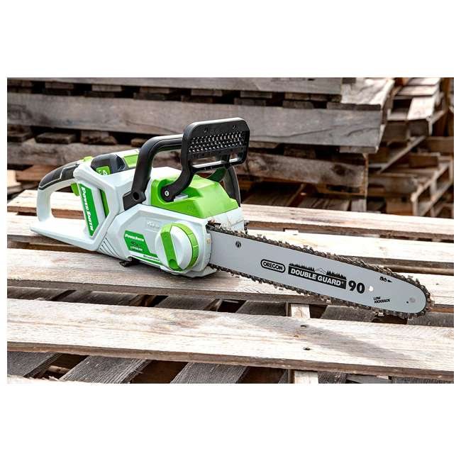 PCS140H PowerSmith 14-Inch Cordless Chainsaw w/ Battery and Charger 2
