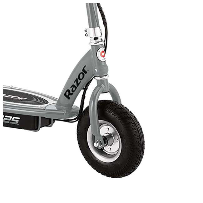 13116312 + 13116397 Razor E325 Electric Motorized Scooters, 1 Silver & 1 Black 4