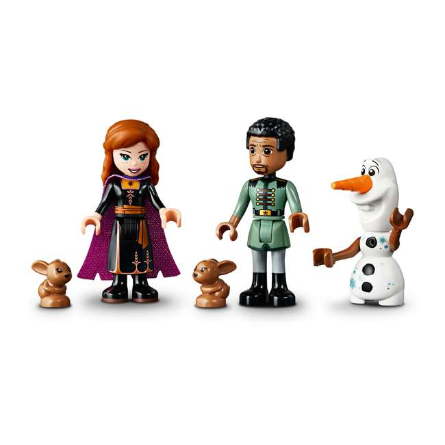 6251006 LEGO 41164 Frozen II Enchanted Treehouse Block Building Kit w/ 3 Minifigures 4