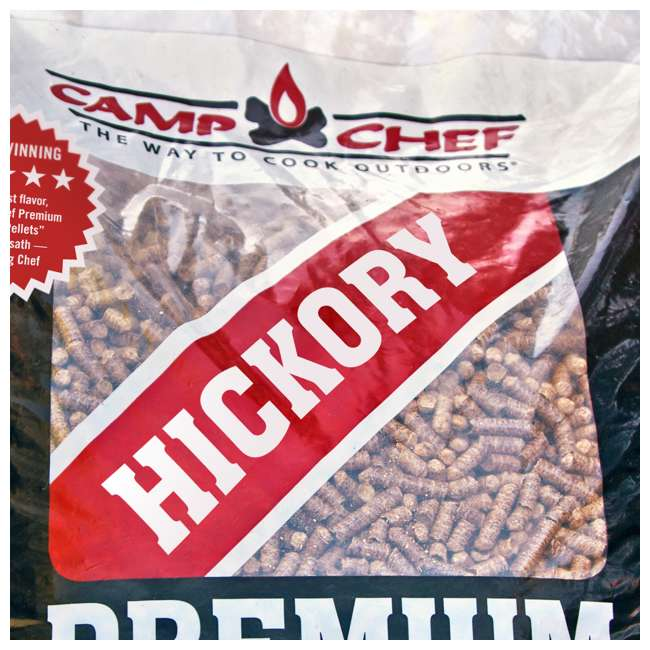 3 x CC_PLHK Camp Chef Smoker Grill Premium Hickory Hardwood Pellets, 20 Pounds (3 Pack) 3