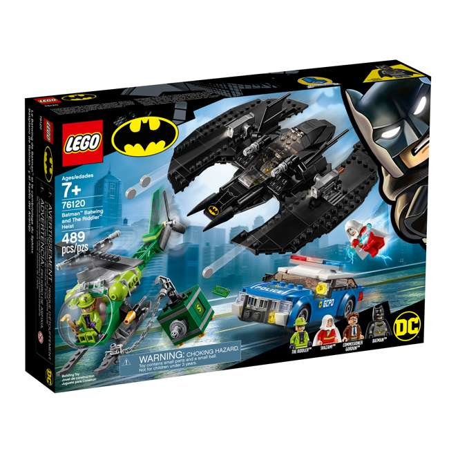6251469 LEGO DC Batman 76120 Batwing and The Riddler Heist Building Set w/ 4 Minifigures 4