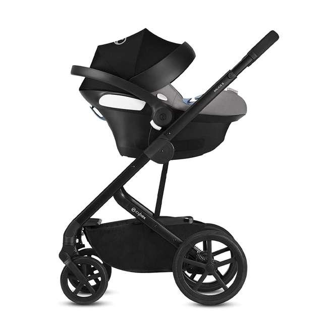518001059-U-A Cybex Balios S 3 in 1 Folding Stroller, Lava Stone Black (Open Box) 7