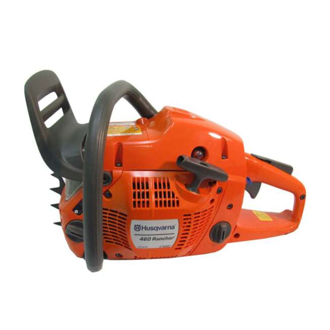 HV-CS-966048320 + HV-TOY-522771104 Husqvarna 460 20-Inch 3.62 HP Gas-Powered Chainsaw | 440 Toy Kids Chainsaw 5