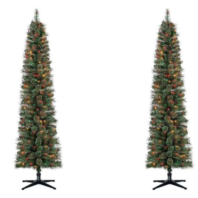 TV70M2638M01 Home Heritage Stanley 7-Foot Artificial Christmas Tree & Lights (2 ...