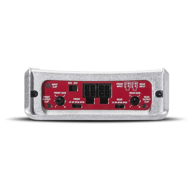 PBR400X4D Rockford Fosgate PBR400X4D Punch 400W Compact Full Range 4 Channel Amplifier 4