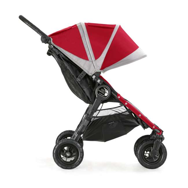 1959387 Baby Jogger City Mini GT Double Stroller, Crimson/Gray 1