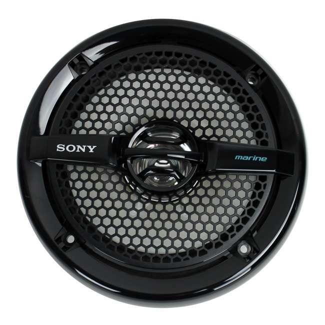 XSMP1611b Sony 6.5-Inch 140W Dual Cone Marine Speakers - Black | XSMP1611 (Pair) 1