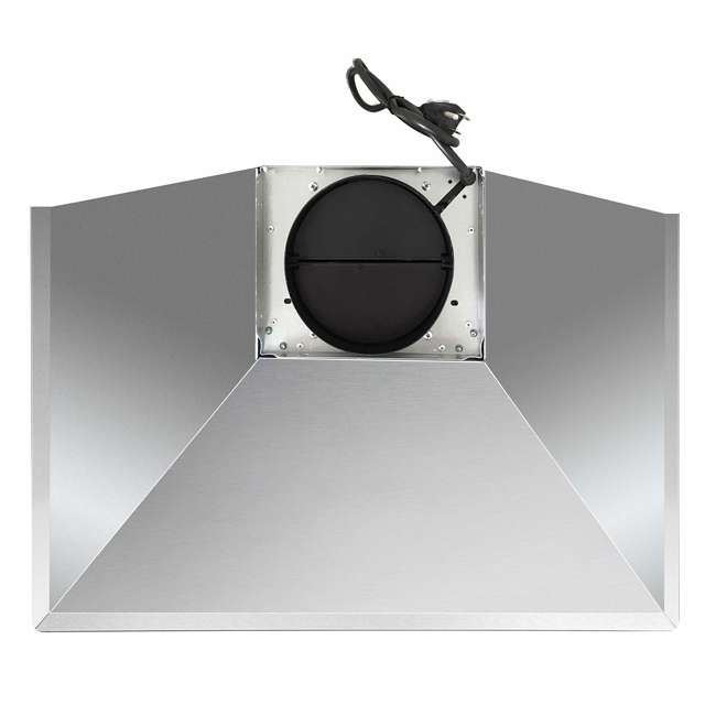 COS-63175 Cosmo COS-63175 30 Inch Wall Mount Range Hood with Push Control, Stainless Steel 4