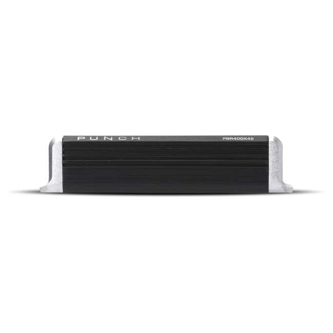 PBR400X4D Rockford Fosgate PBR400X4D Punch 400W Compact Full Range 4 Channel Amplifier 2