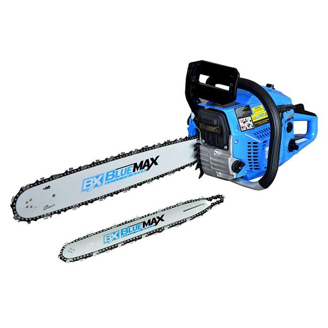 BLMAX-8901 Blue Max 8901 2-in-1 14-Inch/20-Inch Combination Chainsaw, Blue (Non-CARB Compliant)