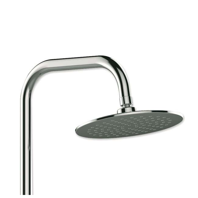 PULSE-1052-CH-U-C Pulse Aquarius Rain Shower Head with Hand Held Attachment, Chrome (For Parts) 1