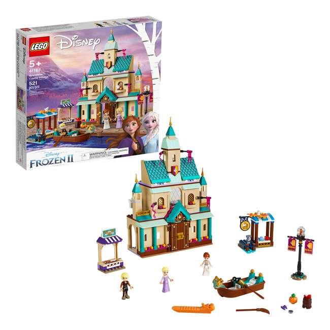 6251057 LEGO 41167 Frozen II Arendelle Castle Village Block Building Kit w/3 Minifigures 3