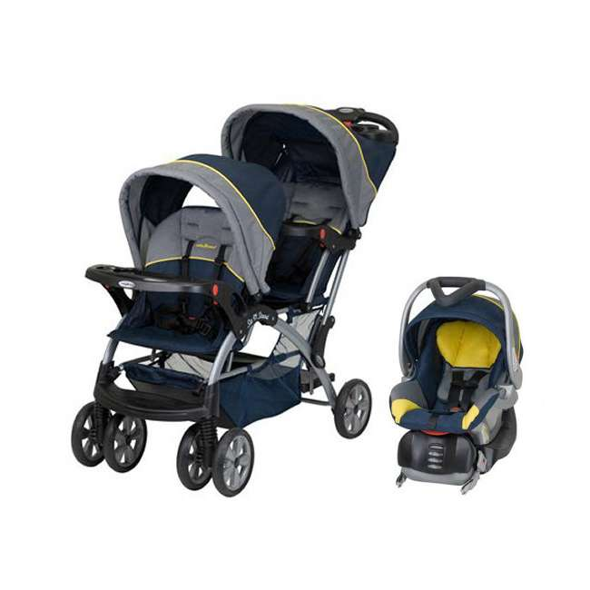Baby Trend Sit N Stand Double Baby Stroller Amp Car Seat