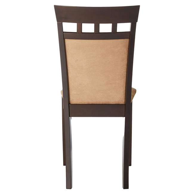 3 x 100773ii-PAIR Coaster Home Furnishings Gabriel Wheat Back Side Dining Room Chairs (6 Pack) 4