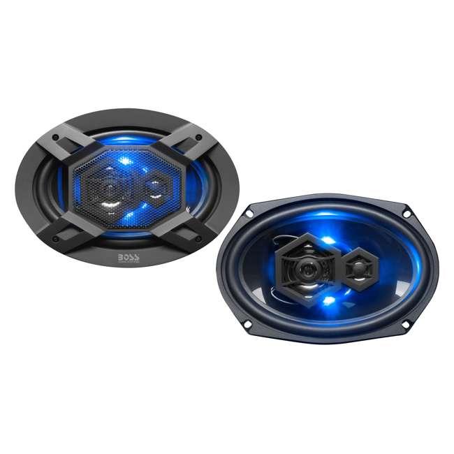 B69LED Boss Audio Elite Series B69LED Full Range Speaker Pair