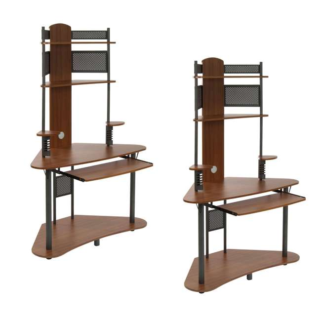 STDN-50500 Calico Designs Arch Tower Computer Desk (2 Pack)