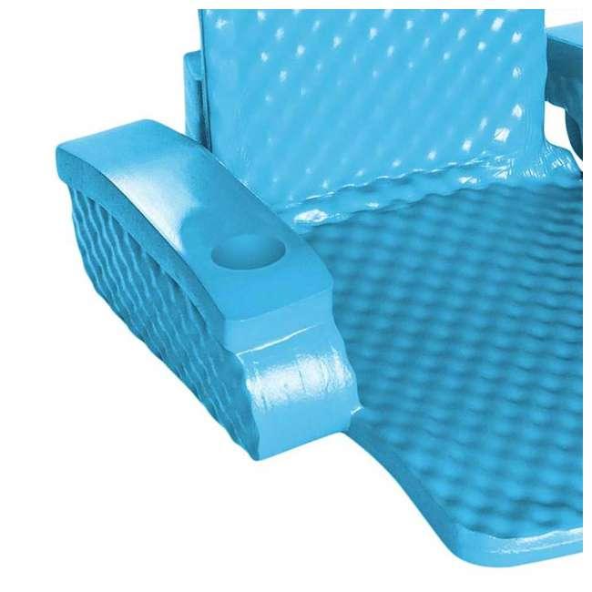 6370128-U-A TRC Recreation Baja Swimming Pool Folding Chair Foam Float (Open Box) (2 Pack) 3