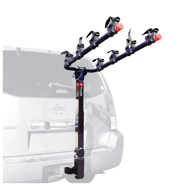 S5491 + 542RR-R Schwinn 700C Phocus 1600 Womens Drop Bar Road Bicycle & 4 Bike Car Bumper Rack 4