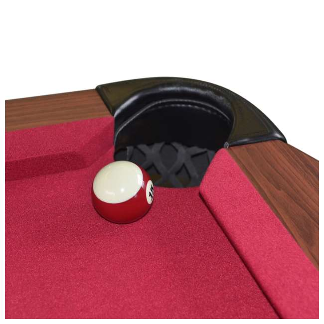 BL090Y19019 Lancaster 90 Inch Traditional Full Size Billiard Pool Table Set w/ Accessories 3