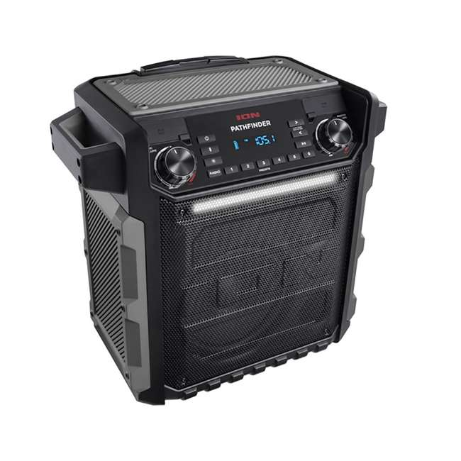 ION Audio Pathfinder Speaker With Radio & Microphone
