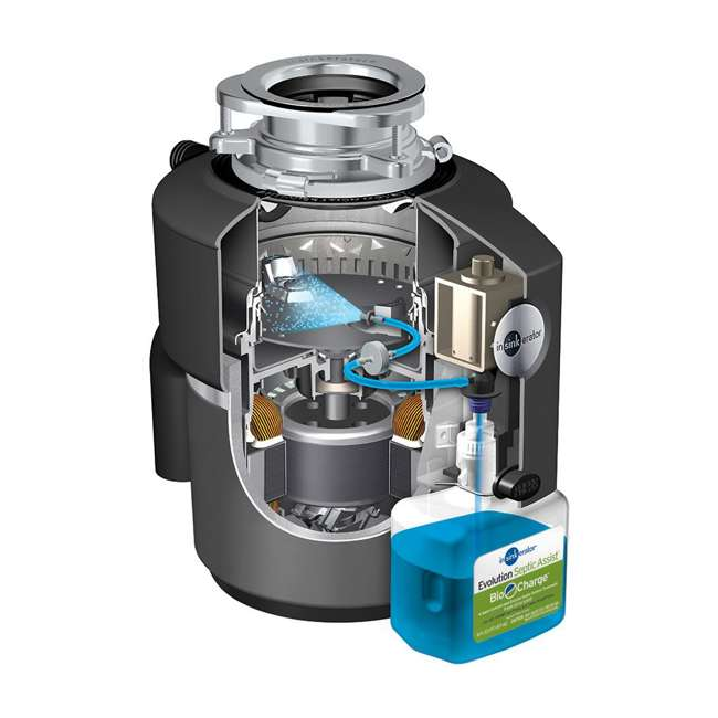 EVOLUTION-SEPTIC-ASSIST-OB InSinkErator Evolution Septic Assist 3/4HP Garbage Disposal 5