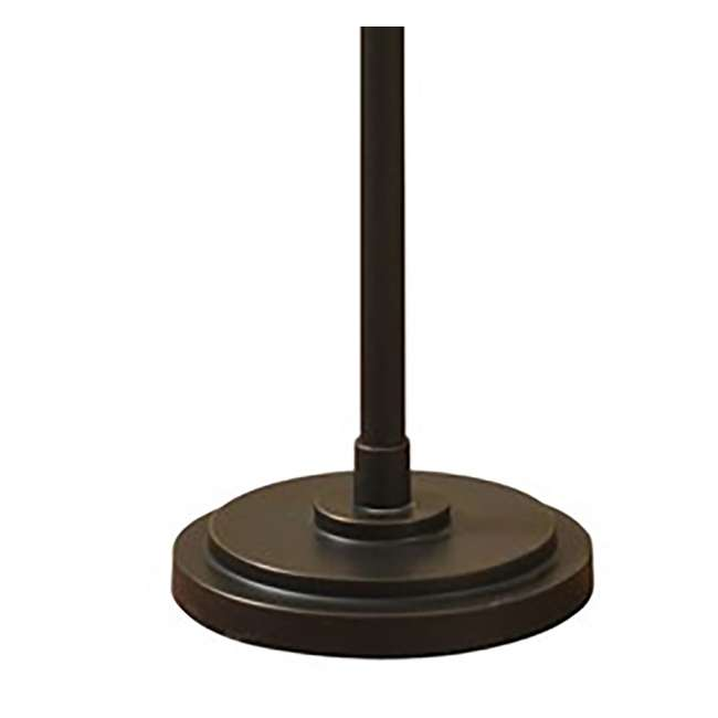 SC-L72755 Abode 84 Madison Bronze Floor Lamp with Swing Arm and Fabric Drum Shade 4