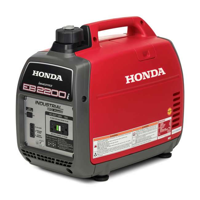 EB2200ITA Honda EB2200ITA 2200 Watt Super Quiet Portable Inverter Generator 2