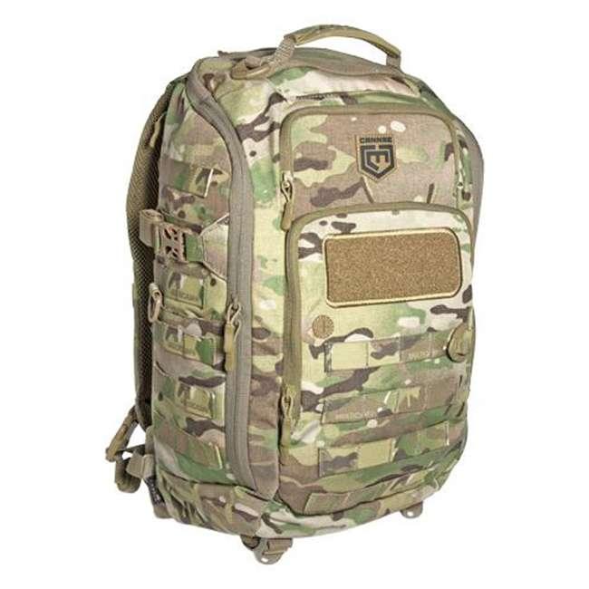 CPG-BP-PHAL-L-B Cannae Pro Gear Full Size 30L Duty Pack w Helmet Carry, Black 5
