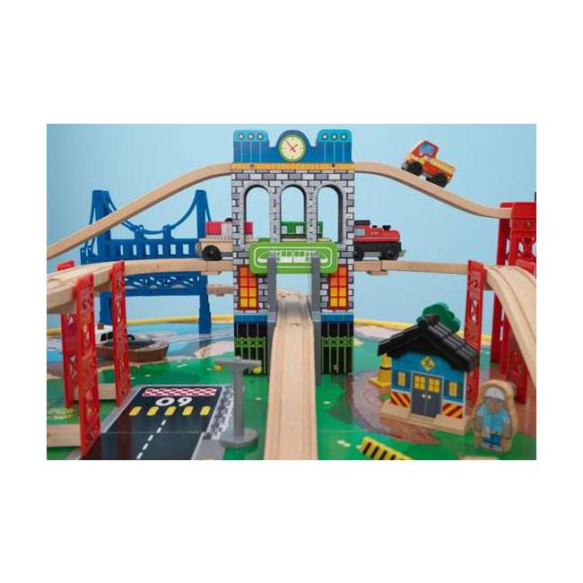 Kidkraft City Explorer Train Set Amp Table 17985