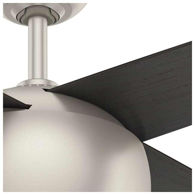 59333 Casablanca 159931 Valby 54 Inch 4 Blade Quiet LED Light Ceiling Fan, Matte Nickel 3