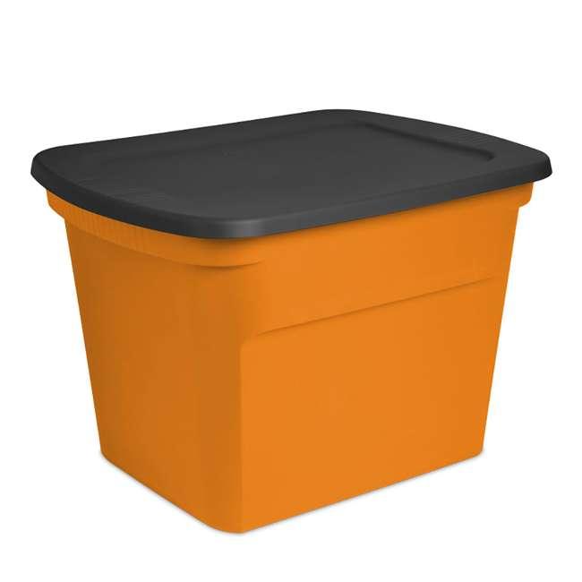 16 x 17313808 Sterilite 18-Gallon Storage Bin with Lid, 16-Pack 1