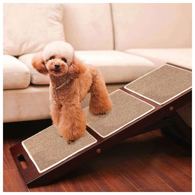 PTR0011710800 Merry Products Collapsible Indoor Ramp for Pets 2