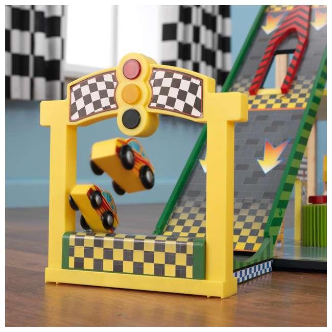 63267-U-A KidKraft Kids Mega Ramp Racing Set for Matchbox and Hotwheels Cars (Open Box) 10