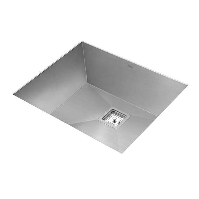 KHU23 Kraus Pax 22.5-Inch Rectangular Undermount Kitchen Sink (2 Pack) 2