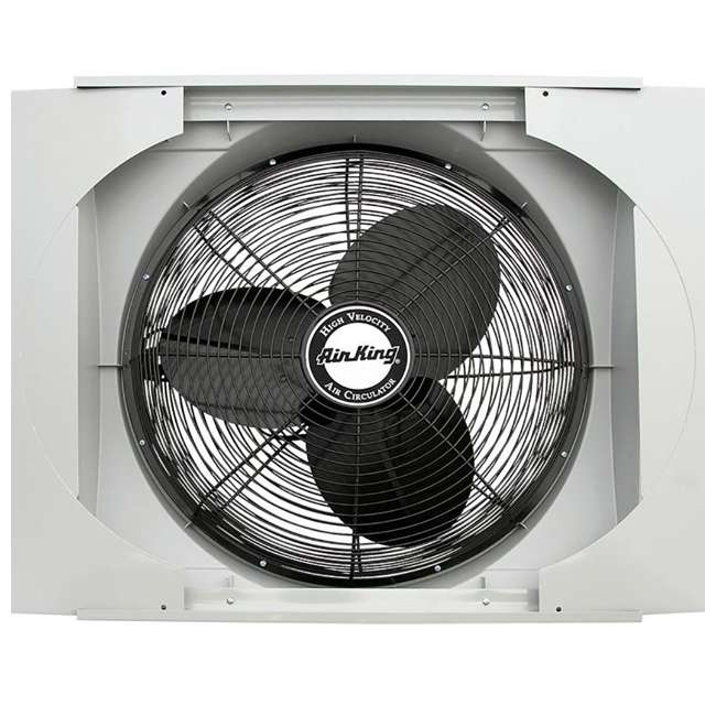 Air king 20 inch whole house window fan ak 9166 for 12 inch window fan
