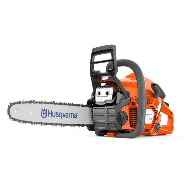 HV-CS-967108411 Husqvarna 130 Lightweight 38cc 2 HP Engine 16 Inch Bar Gas Powered Chainsaw