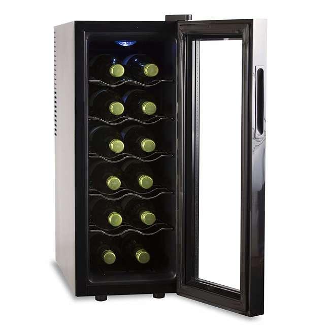 BWT12TB-U-A Black + Decker Thermoelectric 12-Bottle Wine Cellar, Black (Open Box) 4
