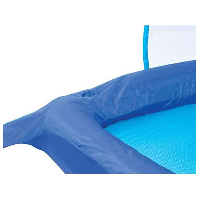 13022 SwimWays Spring Float Recliner with Canopy (2 Pack) 3