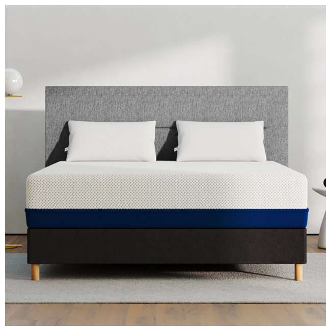AS4-F Amerisleep AS4 Medium Softness Bio Core HIVE Foam Full Size Mattress, White 3