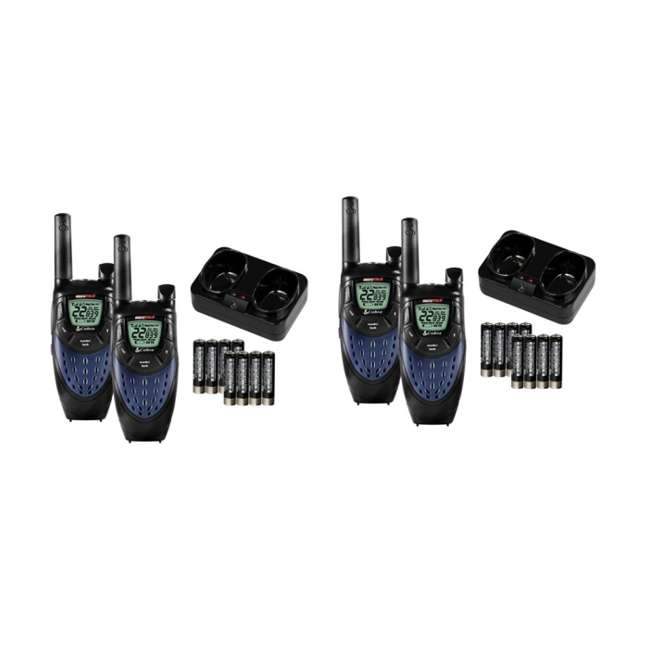 CXT425 (4) COBRA CXT425 MicroTalk 25 Mile 22 Channel 2-Way Radios Walkie Talkies w/NOAA
