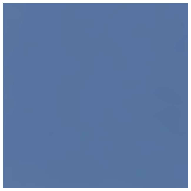 38022 Studio Designs Homeroom 2 Piece Art Table & Bench Set w/ Paper Roll, Blue/White 6