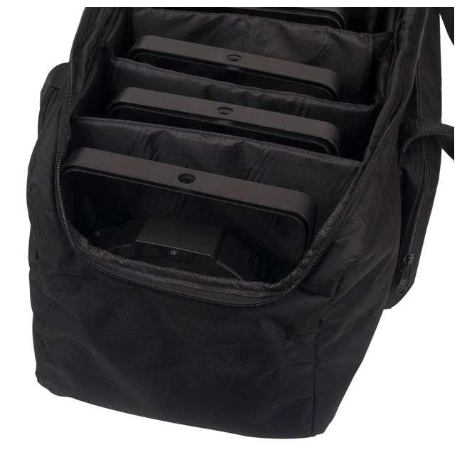 F8PAR-BAG American DJ F8 Par Bag Padded Lighting Effect Travel Case 4